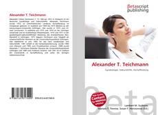 Bookcover of Alexander T. Teichmann