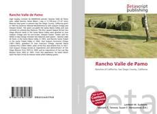 Bookcover of Rancho Valle de Pamo