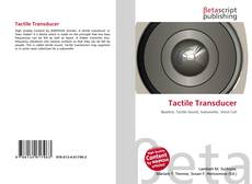 Bookcover of Tactile Transducer