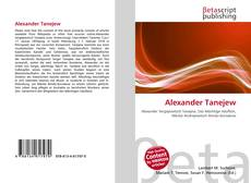 Bookcover of Alexander Tanejew