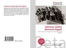 Unknown Soldier Memorial (Egypt)的封面