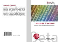 Bookcover of Alexander Tcherepnin