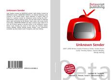 Bookcover of Unknown Sender