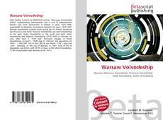 Bookcover of Warsaw Voivodeship