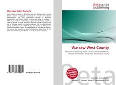 Bookcover of Warsaw West County
