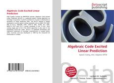 Обложка Algebraic Code Excited Linear Prediction