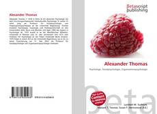 Bookcover of Alexander Thomas