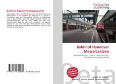 Bookcover of Bahnhof Hannover Messe/Laatzen