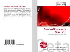 Copertina di Treaty of Peace with Italy, 1947