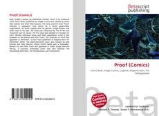 Buchcover von Proof (Comics)