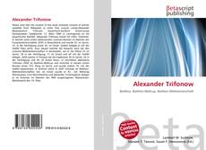 Bookcover of Alexander Trifonow