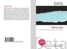 Capa do livro de Nancy Cato