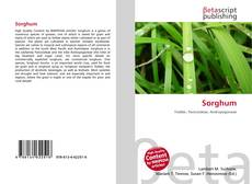 Bookcover of Sorghum