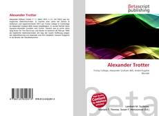 Portada del libro de Alexander Trotter