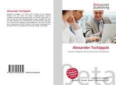 Buchcover von Alexander Tschäppät