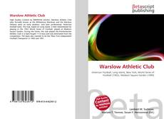 Bookcover of Warslow Athletic Club