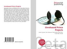 Bookcover of Unreleased Prince Projects