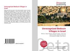 Bookcover of Unrecognized Bedouin Villages in Israel