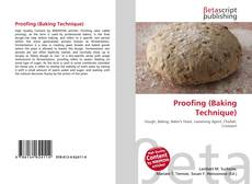 Bookcover of Proofing (Baking Technique)