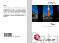 Soria kitap kapağı