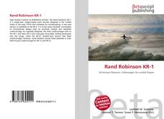 Bookcover of Rand Robinson KR-1