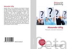 Alexander Ulfig kitap kapağı