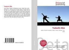 Bookcover of Tadashi Abe