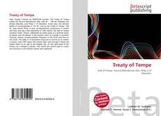 Bookcover of Treaty of Tempe