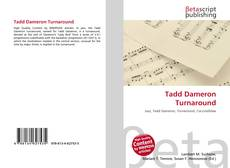 Обложка Tadd Dameron Turnaround