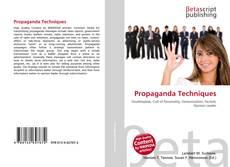 Copertina di Propaganda Techniques