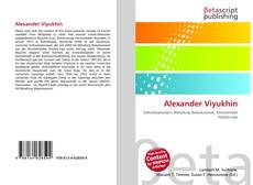 Alexander Viyukhin的封面