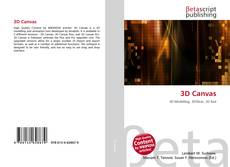 Bookcover of 3D Canvas