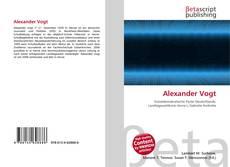 Borítókép a  Alexander Vogt - hoz