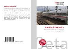 Buchcover von Bahnhof Katowice