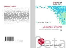 Alexander Vyukhin的封面
