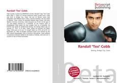 """Bookcover of Randall """"Tex"""" Cobb"""