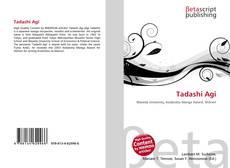 Bookcover of Tadashi Agi