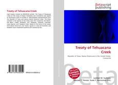 Copertina di Treaty of Tehuacana Creek