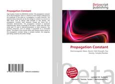 Bookcover of Propagation Constant