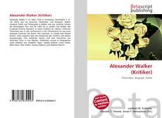 Alexander Walker (Kritiker) kitap kapağı