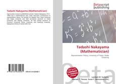 Bookcover of Tadashi Nakayama (Mathematician)