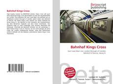 Bahnhof Kings Cross kitap kapağı