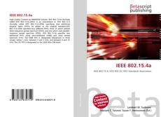 Bookcover of IEEE 802.15.4a