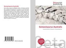 Обложка Soroavisaurus Australis