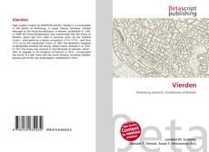 Bookcover of Vierden