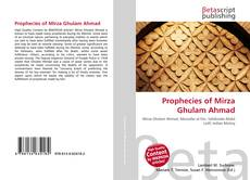 Capa do livro de Prophecies of Mirza Ghulam Ahmad