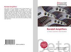 Buchcover von Randall Amplifiers