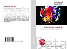 Bookcover of Alexander von Brill