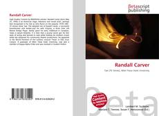 Bookcover of Randall Carver