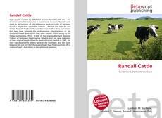 Buchcover von Randall Cattle